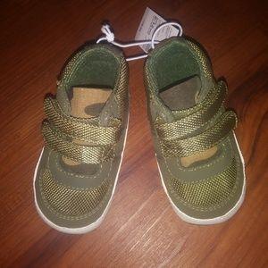 Baby Boy Hi Top Camo Sneakers
